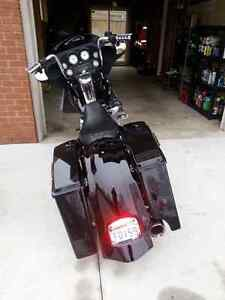 Looking for a complete road glide front fairing and mounting bra