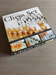Chess Set of shot glasses