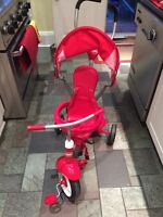 Radio Flyer Deluxe 4-in-1 Trike Tricycle