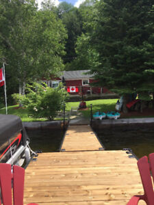 Discounted lakefront  Cottage near Sir Sams Haliburton
