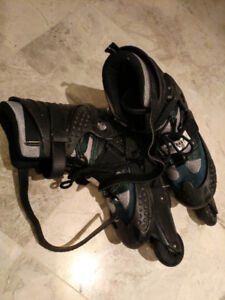adult roller blades,size #7