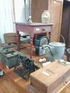Rustic farm decor, antiques,  live edge planed wood and more  Stratford Kitchener Area image 5