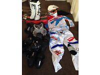 Motocross kit job lot