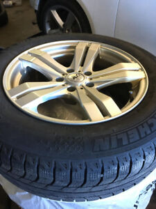 winter tires and rims 215/65R17