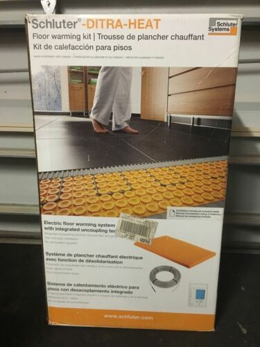 Ditra-Heat 43.1 sq. ft. Electric Floor Warming Kit