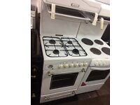 White leisure 60cm high level gas cooker grill & oven good condition with guarantee
