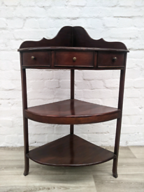 Mahogany Corner unit (DELIVERY AVAILABLE)