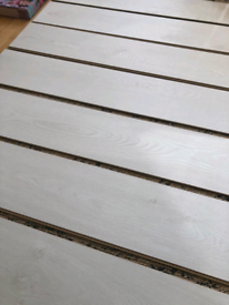 Laminate Floor - White Oak - 2m²