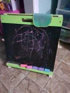 Chalk board /white board easel