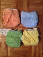 Couches lavables diapers