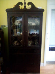 Antique hutch.
