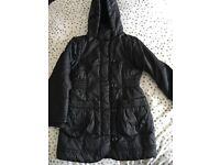 Girls Marks & Spencer's black coat