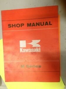 69 70 71 72 73 74 Kawasaki GA 90cc M Series Shop Manual