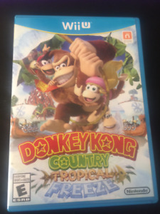 Donkey Kong Country Tropical Freeze for Wii U