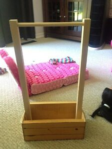 "Handmade wardrobe for an 18"" doll Kitchener / Waterloo Kitchener Area image 1"