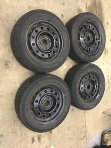 4 snow tires and rims 195/60/15 champiro wt-60 gt radial