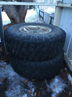 Off road tyres and rims