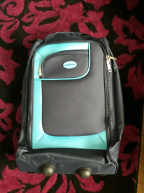 Suitcase on wheels new