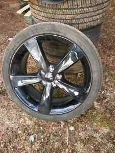 "Dodge dart 18"" rims and tires"