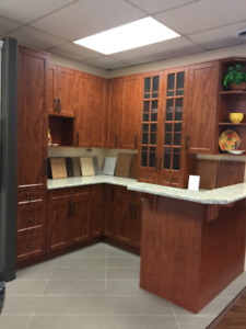 KITCHEN CABINET DOORS/CROWN MOLDINGS/GABLE ENDS