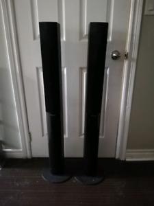 Set of 2 tall Pioneer speakers
