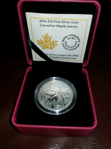 $10 pure silver coin from RCM