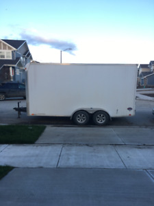 Selling my enclosed 16 ft trailer