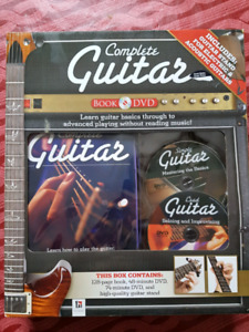 Complete guitar stand & book & dvd .