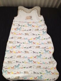 John Lewis Farmyard Sleep Bag 2.5tog 6-18mths