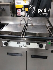 Commercial Food Equipment-Large Panini Grill