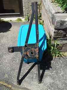 JEEP CJ Tire Carrier & Military Gas Can Kitchener / Waterloo Kitchener Area image 1