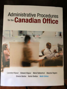 Administrative Procedures of Canadian Office - Ninth Edition