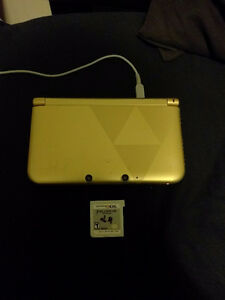 A link between worlds limited edition 3dsxl with 1 game!