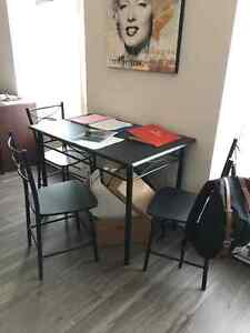 SELLING DINING TABLE + 4 CHAIRS