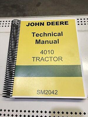 4010 John Deere Technical Service Shop Repair Manual