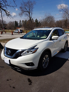 2015 Nissan Murano SL Lease Takeover with $500 Cash Incentive