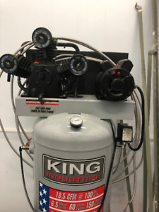 Compresseur King Canada 6.5HP - 60Gallons