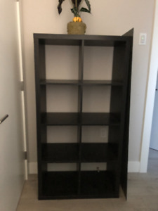 Black Ikea Bookshelf- Great Condition - $120 OBO
