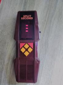 Retro Electronic Handheld Game Split Second