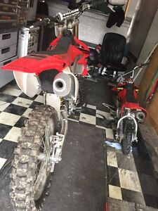 2007 CRF 450 R in immaculate shape