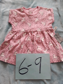 Girls dress 6/9 months