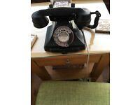 Pyramid phone. 1947 vintage.