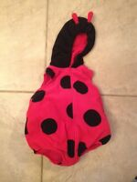 18 months ladybug costume