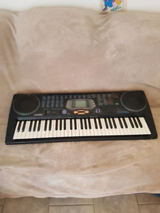 Casio keyboard.