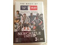 Newcastle United DVD (new sealed)