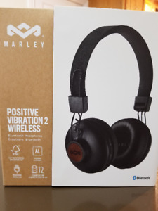House of Marley Positive Vibration 2 On-Ear Sound Isolating Blue