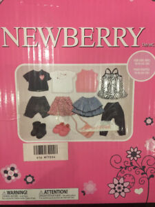 "CLOTHING FOR NEWBERRY 18"" DOLLS BRAND NEW"
