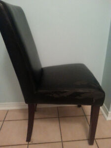 Black Chairs, Cushioned, save $105 each! Windsor Region Ontario image 2