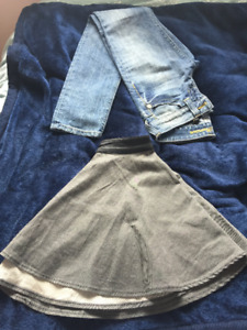Guess Jeans and Skirt for Sale!