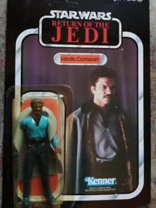 STAR WARS figurine VINTAGE 1983 LANDO CALRISSIAN BESPIN OUTFIT